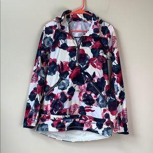 Lululemon Miss Misty Floral Hooded Rain Jacket 4